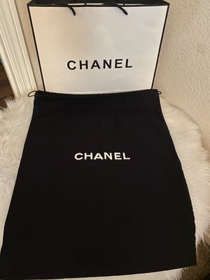 Chanel black large Dust bag! Authentic & new! for Sale in Las Vegas, NV