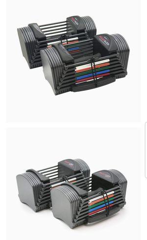 Power lock sport 24 dumbbells (pair) for Sale in San Marcos, CA