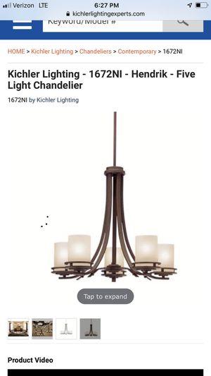 Kichler Chadelier for Sale in Alexandria, VA