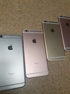 (PARTS ONLY)4 IPHONE 6S PLUS. NOT FOR CONSUMER USE $100 TOTAL for Sale in Philadelphia, PA
