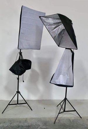 New in box 2 pcs 85 watts soft light softbox photography studio lighting equipment for Sale in San Dimas, CA
