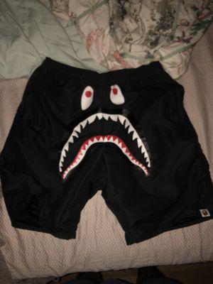 Bape Shark Beach Shorts (SIZE MEDIUM) for Sale in Wheaton, MD