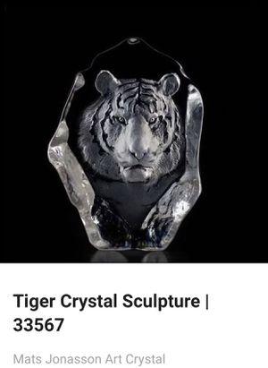 Mats Jonasson Art Crystal for Sale in Grape Creek, TX