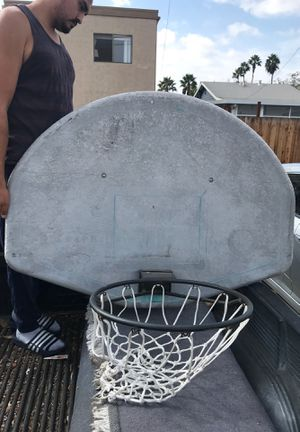 48 Graphite World Class Basketball Hoop for Sale in San Diego, CA
