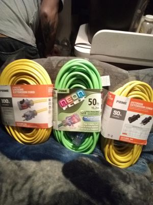 (3) Extension Cords for Sale in Tacoma, WA