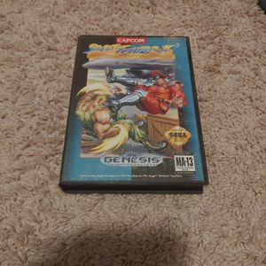 Street Fighter 2 Special Champion Edition Sega Genesis for Sale in Oklahoma City, OK