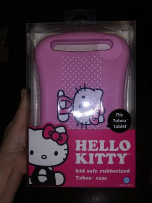 Hello kitty silicone tablet cover case for Sale in Tullahoma, TN