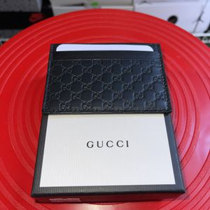 Black Gucci Monogram Card Holder - Brand New for Sale in Millbrae, CA