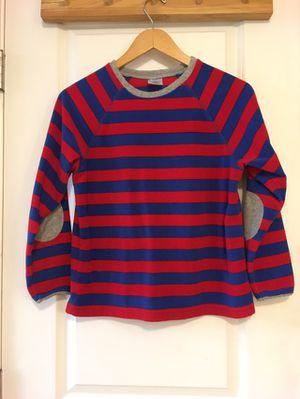 Land's End Fleece Blue Red Striped Longsleeves Boys Medium Size 8 for Sale in Seattle, WA