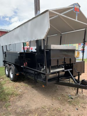 Barbecue truck pit trailer for Sale in Katy, TX