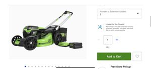 Greenworks lawn mower for Sale in Lombard, IL