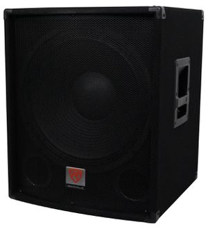 "Rockville SBG1184 18"" 1000 Watt Passive 4-Ohm Pro DJ Subwoofer, MDF/Pole Mount for Sale in Los Angeles, CA"