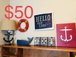 Nautical Room Decor for Sale in San Antonio, TX