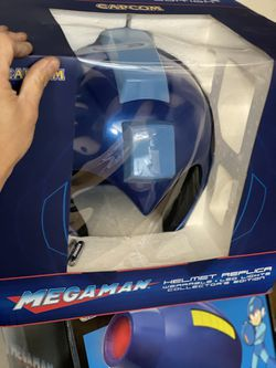 MEGAMAN Wearable 1:1 Scale HELMET and BLASTER! for Sale in Monterey Park,  CA