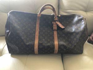 Louis Vuitton handbag Monogram KeepAll Bandouliere 60 VI8912 Authentic Vintage for Sale in Canton, MI