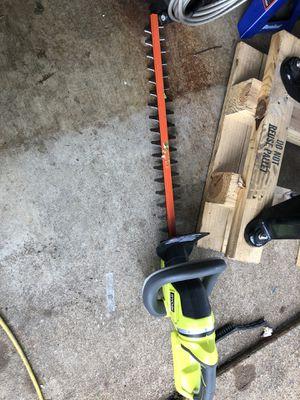 Ryobi 40v hedge trimmer for Sale in Irving, TX