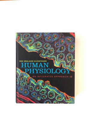 Human Physiology (Dee Unglaub Silverthorn) for Sale in New York, NY