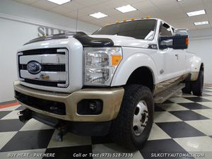 2012 Ford F-350 Super Duty King Ranch DIESEL DUALLY for Sale in Paterson, NJ