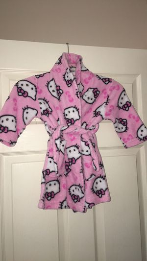 Hello Kitty Plush Girls Robe for Sale in Coral Springs, FL