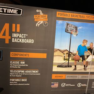 "44 "" Portable Basketball Hoop for Sale in Stafford Township, NJ"