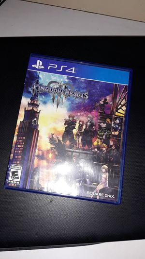 Kingdom Hearts 3 Good Condition for Sale in New Haven, CT