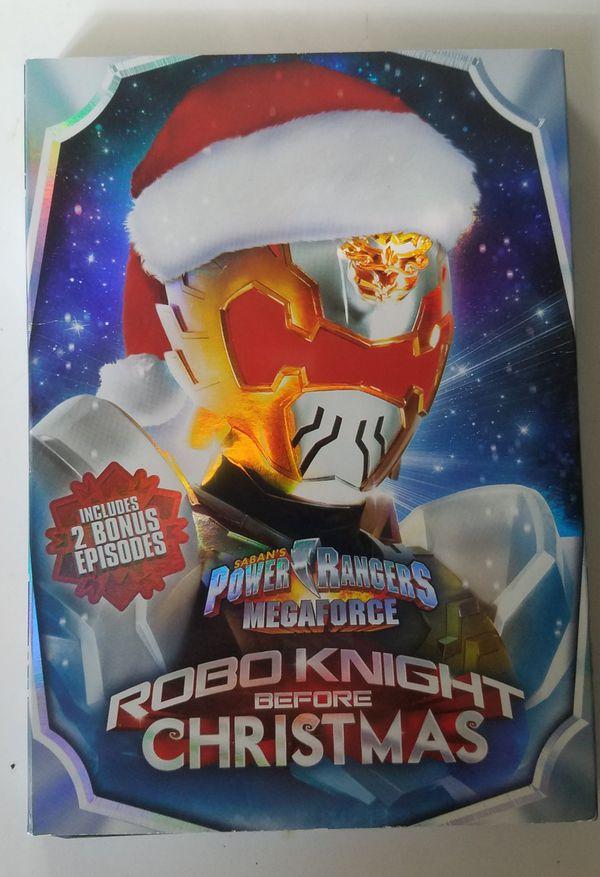 Power Rangers Robo Knight Before Christmas DVD