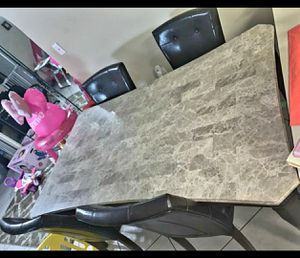 Marble dinning kitchen table for Sale in Port Richey, FL