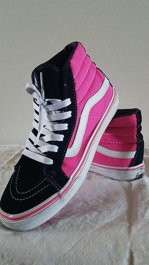VANS-Skate High(Hot Pink & Black) for Sale in Santa Clarita, CA