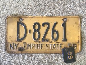 Old NY License plate for Sale, used for sale  Staten Island, NY