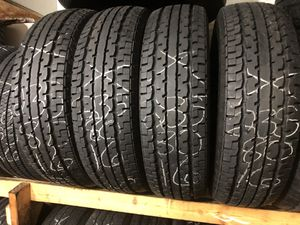 USED 235/80R16 TRAILER TIRES for Sale in Indianapolis, IN