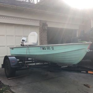 14' Jon Boat for Sale in Potomac, MD