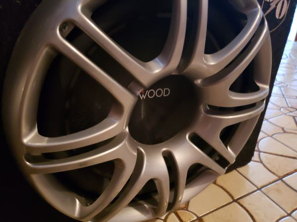 """12"""" Kenwood Subwoofers with Power Amp"""