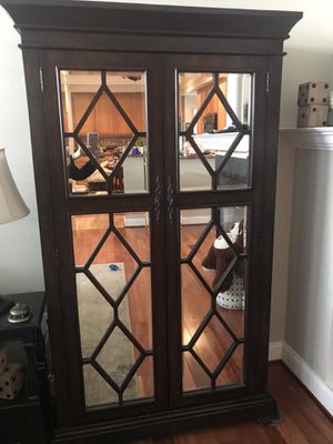 Mirrored armoire for Sale in Woodbridge, VA