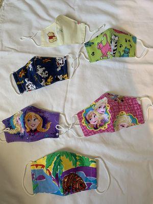 Kids' Cloth Face Masks- WASHABLE for Sale in Fort Lauderdale, FL