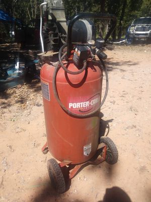Porter cable air compressor model CPF6025VP 25gal, 135 psi 6.0 hp for Sale in Norman, OK