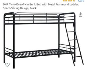 Twin bunk bed for Sale in San Francisco, CA
