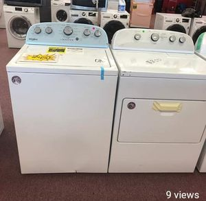 Washer and dryer set, brand new , scratch and dents for Sale in North Lauderdale, FL