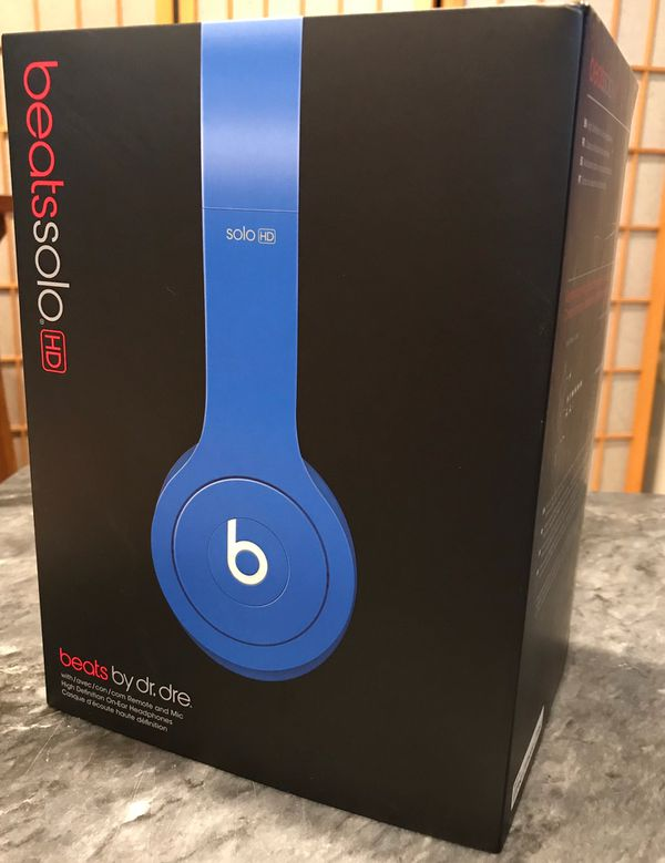 Beats Solo HD- Wired (Blue)