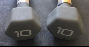 10 Lb dumbbell set for Sale in Tracy, CA