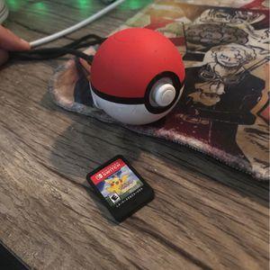 Pokémon Let's Go Pikachu w/ Pokeball for Sale in Puyallup, WA