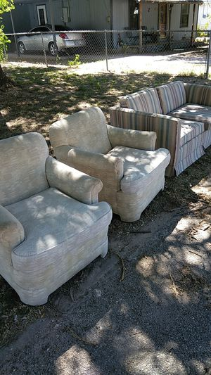 Two chairs in one loveseat for Sale in San Angelo, TX