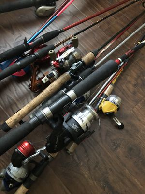 Fishing Rods and Reels for Sale in Rockwall, TX