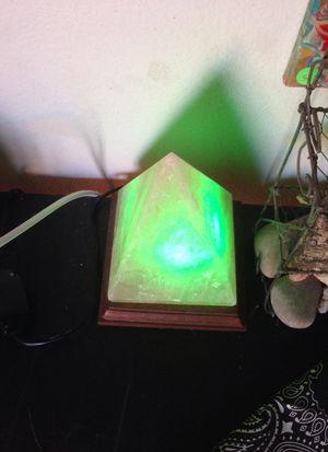 Himalayan pyramid salt lamp for Sale in Phoenix, AZ