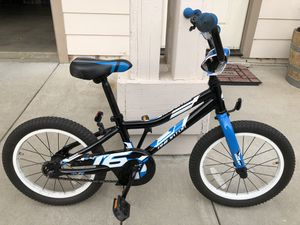 """Giant annihilator 16"""" inch boys bike in good condition. Purchased for 200 asking for 70 for Sale in Templeton, CA"""