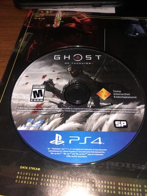 Ghost of Tsushima game disc only for Sale in Fresno, CA