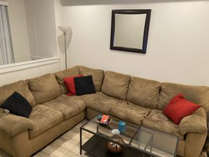 Sectional Couch with Pull Out Bed for Sale in Philadelphia, PA