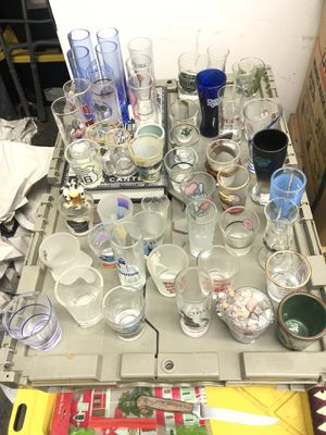 Large Shot Glass Collection 50+ for Sale in Los Angeles, CA