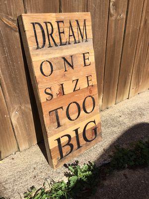 Dream sign for Sale in Carrollton, TX