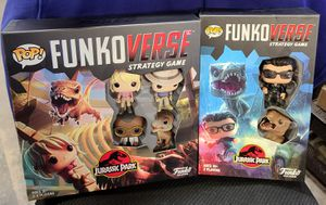 "FUNKO: JURASSIC PARK ""FUNKOVERSE"" (SET OF BOTH GAMES W/6 EXCL FIGURES) *LONDON TOY FAIR* (SEALED & MINT) 🔥 for Sale in Philadelphia, PA"