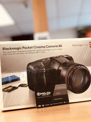 BlackMagic Camera 6k for Limited Time Now for Sale in Corona, CA